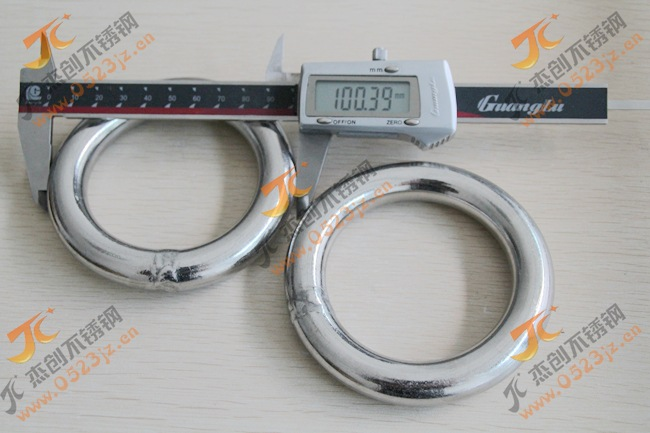 非标粗圆环定制M16*100 304不锈钢圆环/不锈钢圆圈/圆环/O型环