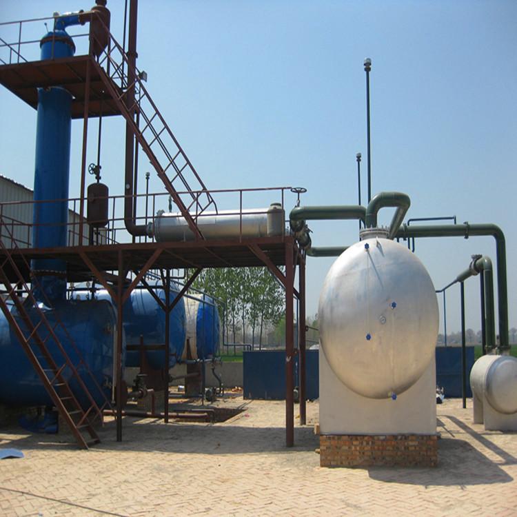 废塑料、废橡胶炼油一体机设备(国家专利,行业质量售后第