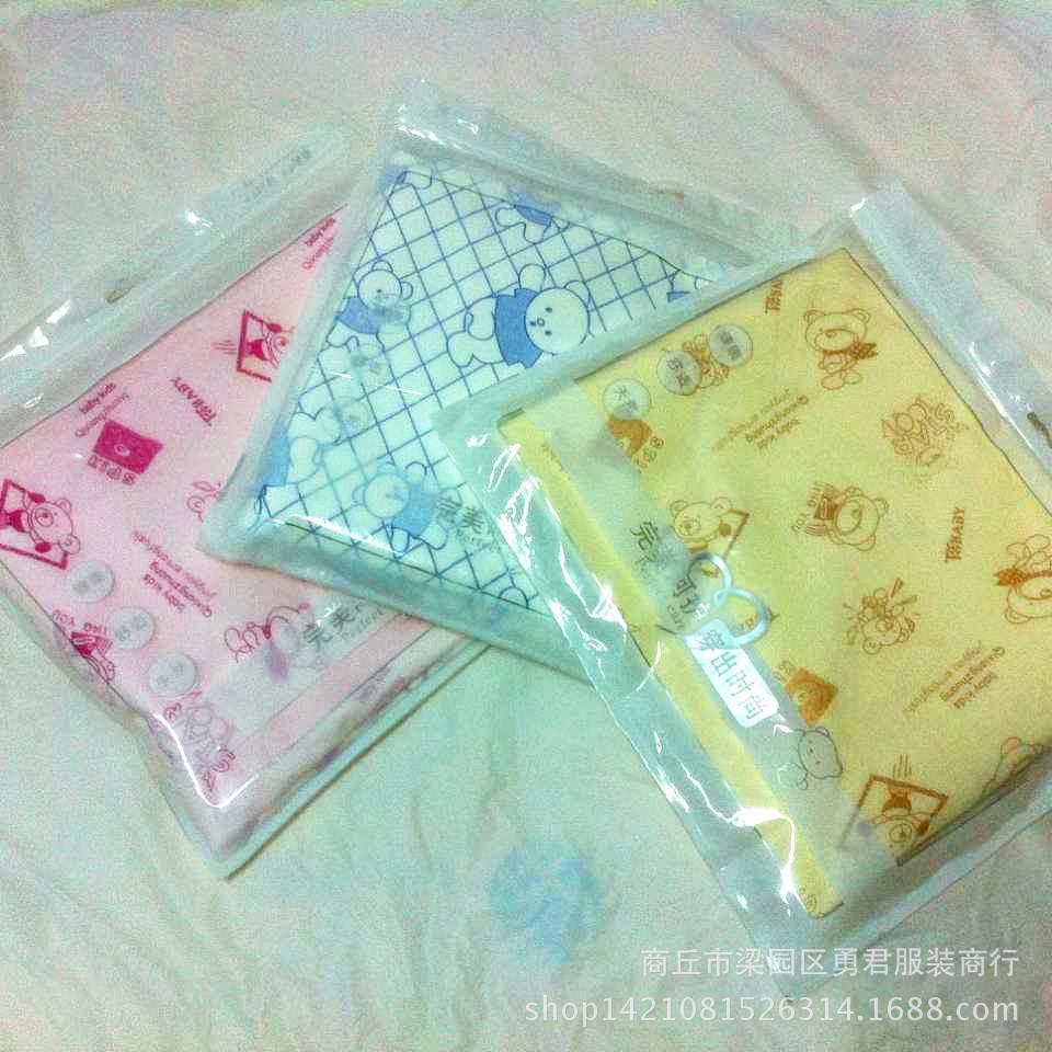 厂家直销金丝绒面料精包装卡通尿不湿隔尿垫90cm*120cm