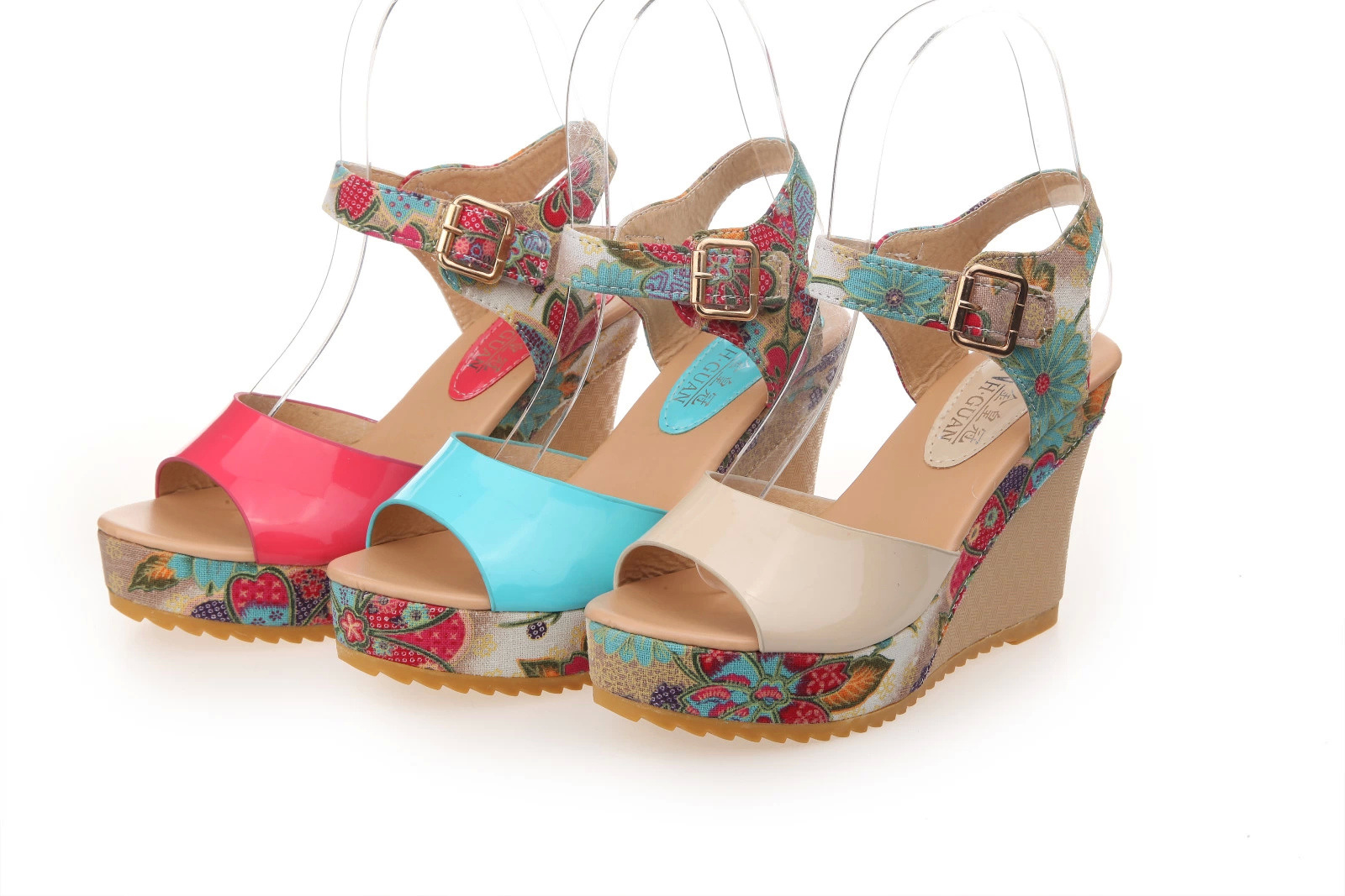 30 latest summer wedge heels and sandals uk