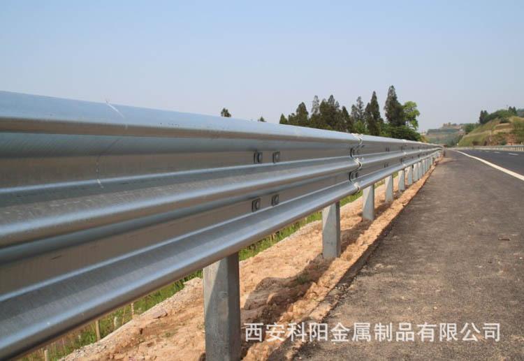 安康波形护栏批发安装、紫阳环山公路护栏、道路防撞护栏