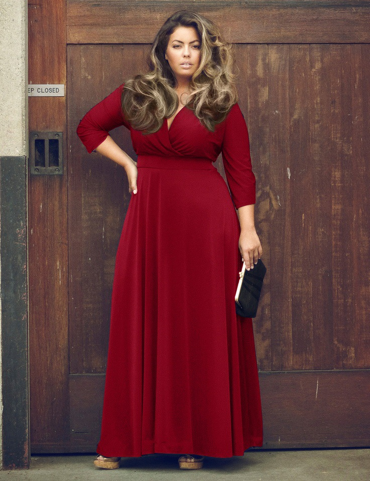 34 Sleeve Sexy V Neck Women Long Dress Plus Size Xxl Xxxl 3xl