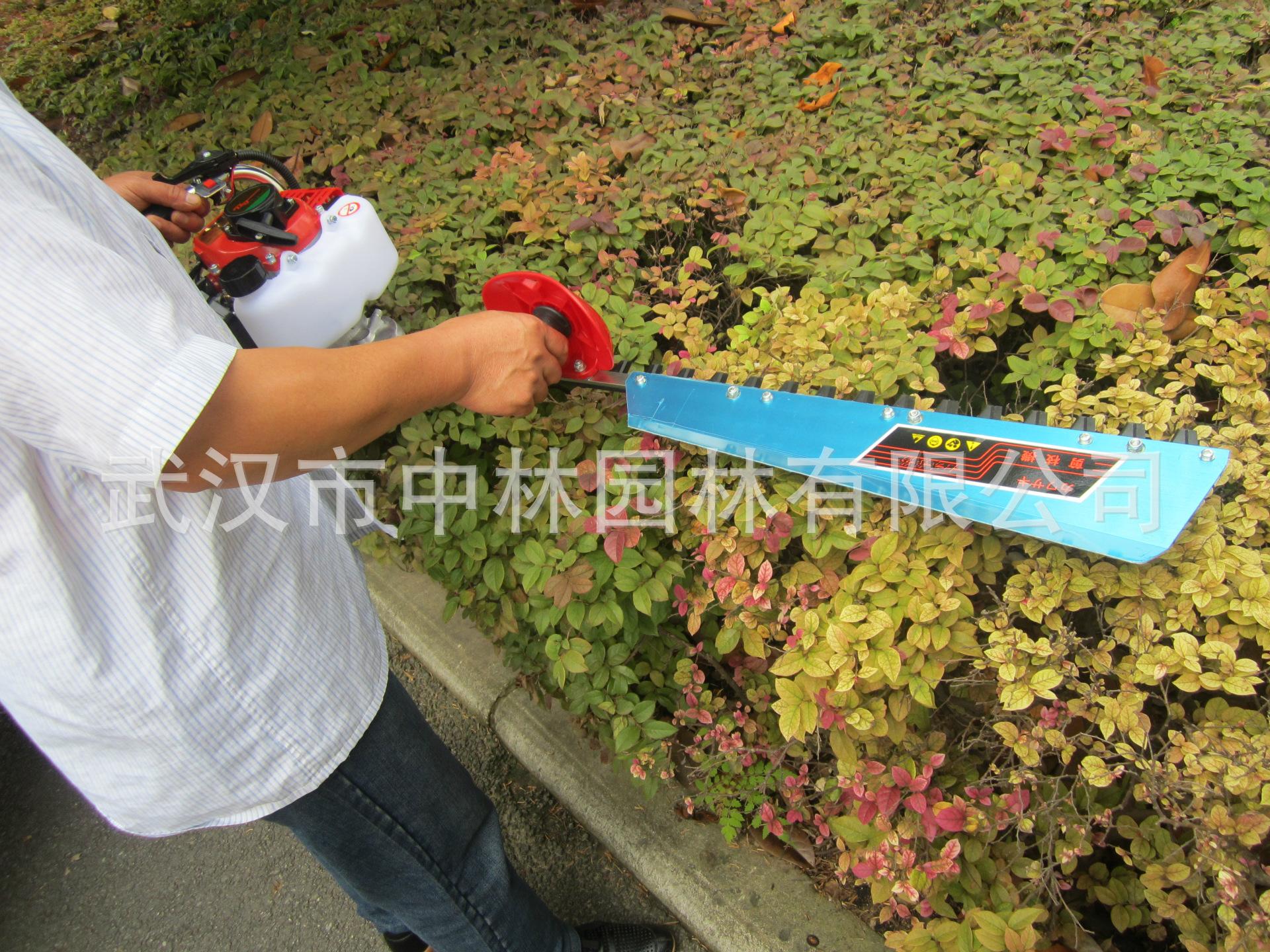 现货供应湖北武汉园林机械供高质量品质绿篱机国产单刃绿篱