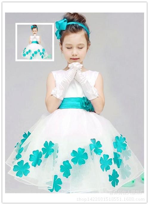 演服 舞蹈服 六一儿童节表演服装公主裙蓬蓬裙韩版女纱裙新款幼儿舞